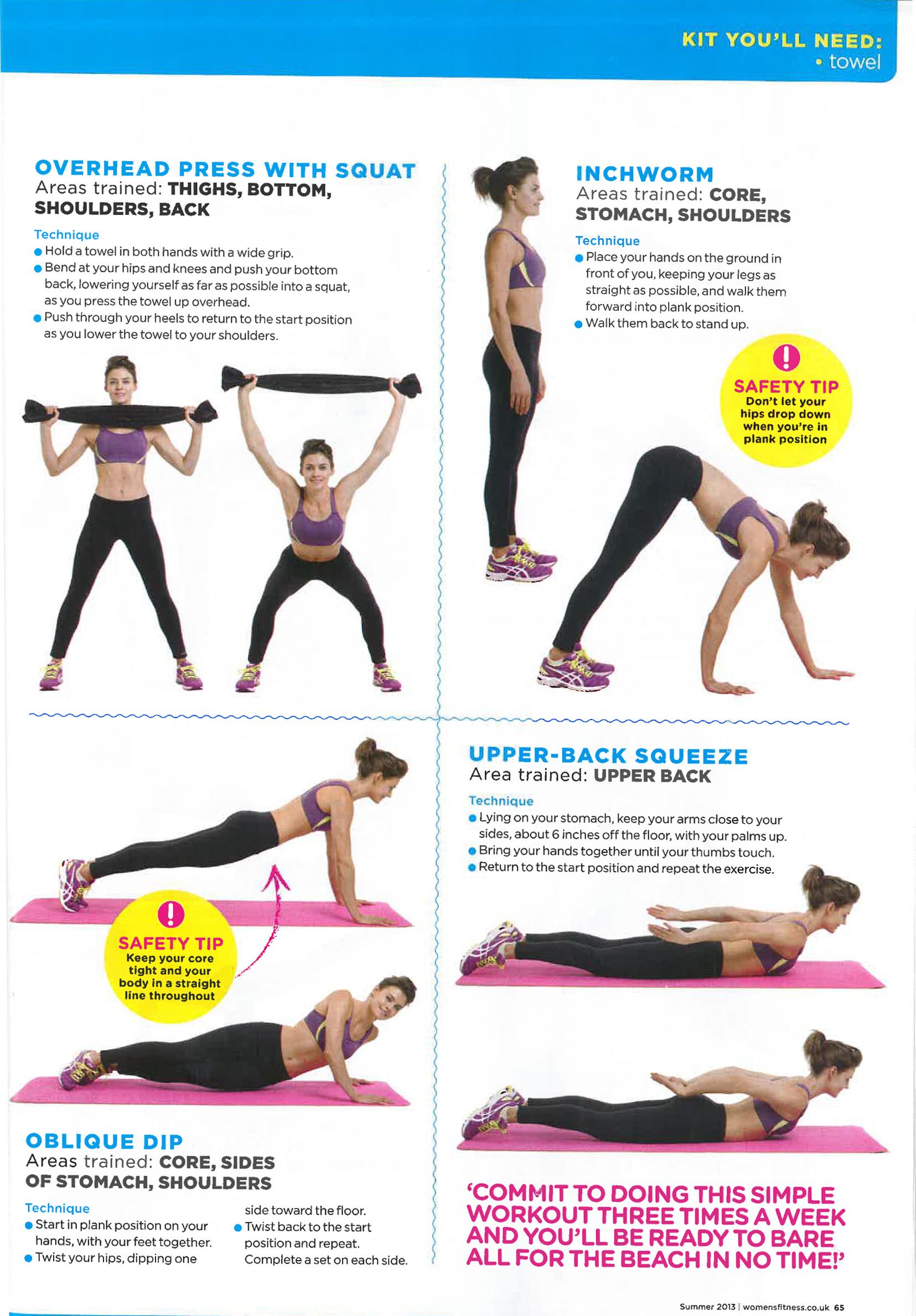 how to get a bikini body fast in 2 weeks